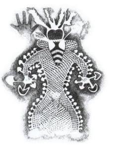Psilohuasca - bee shaman image